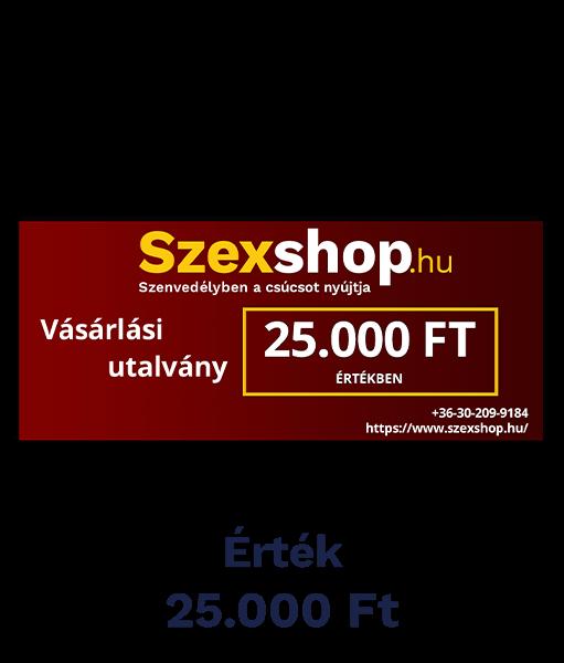 Szexshop 25.000 Ft értékű kupon